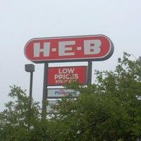 Photo taken at H-E-B by Derek C. on 3/24/2012