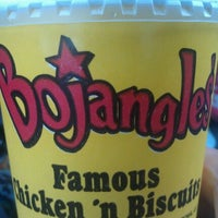 Photo taken at Bojangles' Famous Chicken 'n Biscuits by Leanna S. on 5/8/2012