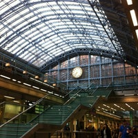 Photo taken at London St Pancras International Eurostar Terminal by Michele D. on 8/25/2012