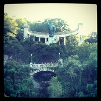Photo taken at Elisabeth Bridge by Flavio P. on 6/7/2012