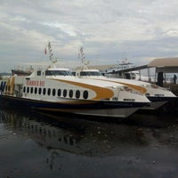Photo taken at Harbour Bay International Ferry Terminal by Rafidah A. on 5/23/2012