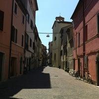 Photo taken at Corso di San Benedetto by Maira M. on 5/15/2012