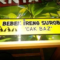 Photo taken at Bebek Ireng Suroboyo  Cak Baz by Ants B. on 8/1/2012