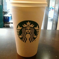 Photo taken at Starbucks by Betty on 3/16/2012