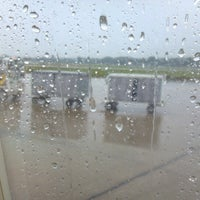 Photo taken at Erie International Airport (ERI) by Jerry B. on 8/27/2012