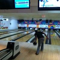 Photo taken at Main Bowling Center by Jenni H. on 4/3/2012