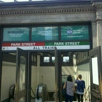Photo taken at MBTA Park Street Station by SupahFans S. on 7/4/2012