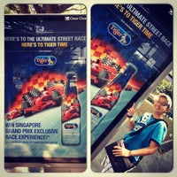 Photo taken at Bus stop 84281 @ Blk 180 Bedok North Road by Ashley I. on 9/1/2012