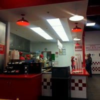 Photo taken at Five Guys by Steven R. on 3/24/2012