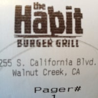 Photo taken at The Habit Burger Grill by David S. on 6/26/2012