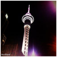 Photo taken at Sky Tower by Lola A. on 4/6/2012