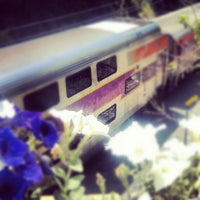 Photo taken at Franklin/Dean College MBTA Station by Berry I. on 6/1/2012