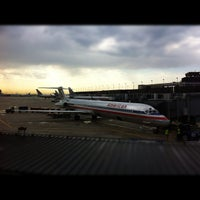Photo taken at Terminal 3 Security Checkpoint by Malcolm J. on 8/23/2012