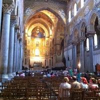 Photo taken at Duomo di Monreale by Giulia G. on 8/16/2012
