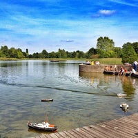 Photo taken at Britzer Garten by ibo •. on 9/9/2012