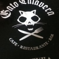 Photo taken at Gato Calavera by Sergio E. on 8/10/2012