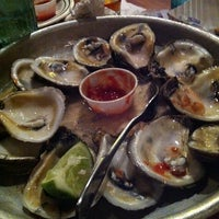 Photo taken at Half Shell Raw Bar by Katie A. on 9/1/2012