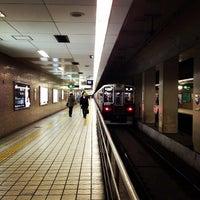 Photo taken at Sakaisuji-Hommachi Station by Mizuho S. on 2/6/2012