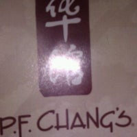 Photo taken at P.F. Chang's by Mel L. on 4/1/2012