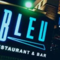 Photo taken at Bleu Restaurant & Bar by Jeanette R. on 5/19/2012