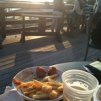 Photo taken at Bowen's Island Restaurant by Colleen D. on 3/28/2012
