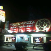 Photo taken at Tower of Pizza by Ilias A. on 2/24/2012