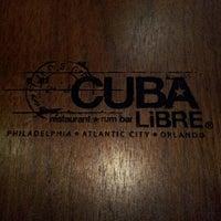 Foto tomada en Cuba Libre Restaurant & Rum Bar - Orlando por Patricia G. el 7/15/2012