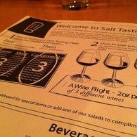 Photo taken at Salt Tasting Room by Allessia I. on 4/13/2012