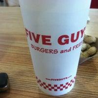 Photo taken at Five Guys by Jai on 7/4/2012