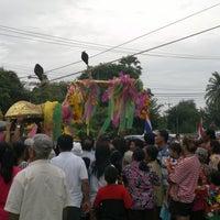 Photo taken at วัดป่าหวาย by phawai c. on 8/2/2012