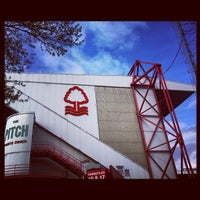 Photo taken at The City Ground by Michael L. on 4/7/2012
