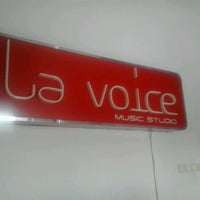 Photo taken at La Voice Music Studio by Romi H. on 7/8/2012
