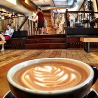 Photo taken at Elixr Coffee Roasters by Lef C. on 8/31/2012