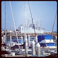 Photo taken at Cabrillo Marina by C. M. on 4/6/2012