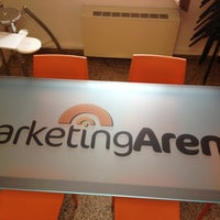 Photo taken at Marketing Arena by Rossana O. on 6/11/2012