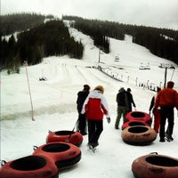 Photo taken at Coca Cola Tubing Hill by Dustin H. on 4/2/2012