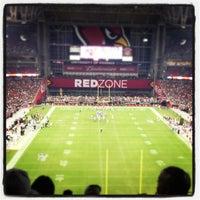 Photo taken at University of Phoenix Stadium by Ryan P. on 8/18/2012