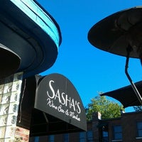 Photo taken at Sasha's Wine Bar & Market by Michele on 9/8/2012
