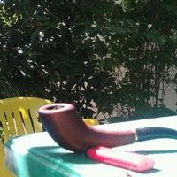 Photo taken at место для неспешного курения трубки by Виталий Л. on 5/16/2012