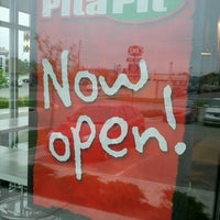 Photo taken at Pita Pit by Caley L. on 4/21/2012