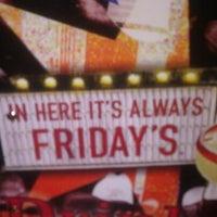 Photo taken at TGI Fridays by Deborah W. on 2/19/2012