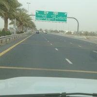 Photo taken at Al Khawaneej Road by Abdulla B. on 5/26/2012
