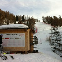 Photo taken at Stade de slalom by Renaud F. on 2/28/2012
