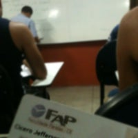 Photo taken at Faculdade Paraíso do Ceará - FAP by Jefferson L. on 8/3/2012