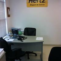 Photo taken at Hertz Aluguel de Carros by Márcio C. on 4/6/2012
