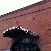 Photo taken at The Old Spaghetti Factory by Danny R. on 7/27/2012