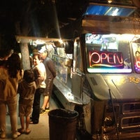 Photo taken at El Ranchito Taco Truck by Victor R. on 7/28/2012