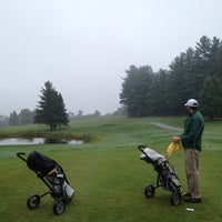 Photo taken at Waukewan Golf Club by Sam B. on 9/4/2012