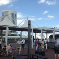 Photo taken at 日の出桟橋 水上バス乗り場 by 航介 加. on 8/8/2012