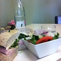 Photo taken at Jacquie's Cafe & Gourmet Catering by Gregory D. on 8/24/2012